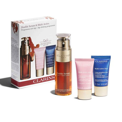 Double Serum & Multi-Active. Age-defying programme.