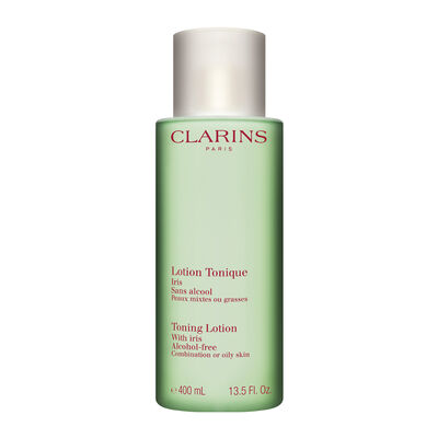 "Toning Lotion With Iris ""Combination/Oily Skin"" 400ml Luxury Size"