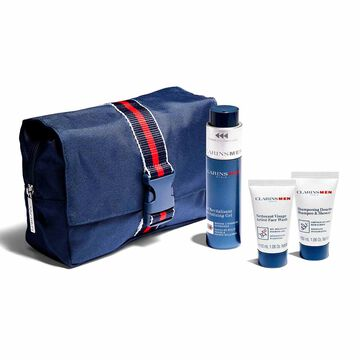 ClarinsMen Essentials set for face and body