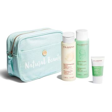Purifying cleansing set, Combination to oily skin