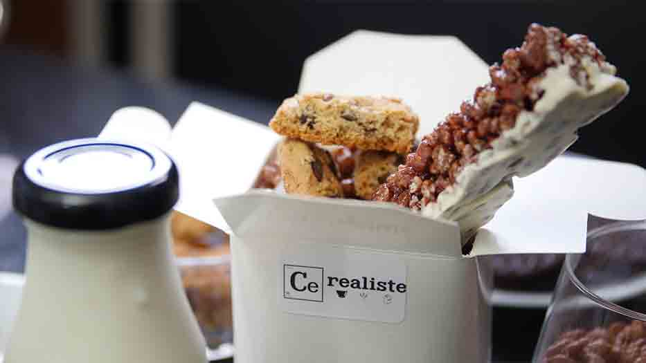 Cereal bar: the trend comes to Paris
