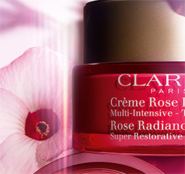 Rose Radiance Cream with hibiscus flower pack