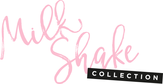 Model and logo Milkshake Collection