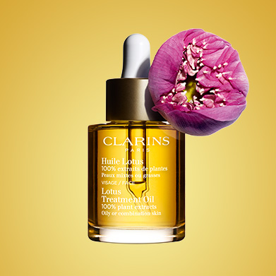 Lotus Oil with Lotus Ingredient