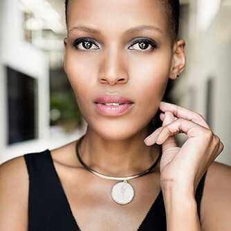Mathahle Stofile's look