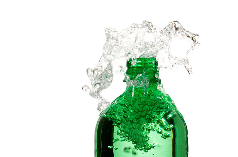Sparkling water: the new beauty solution for dull complexions?