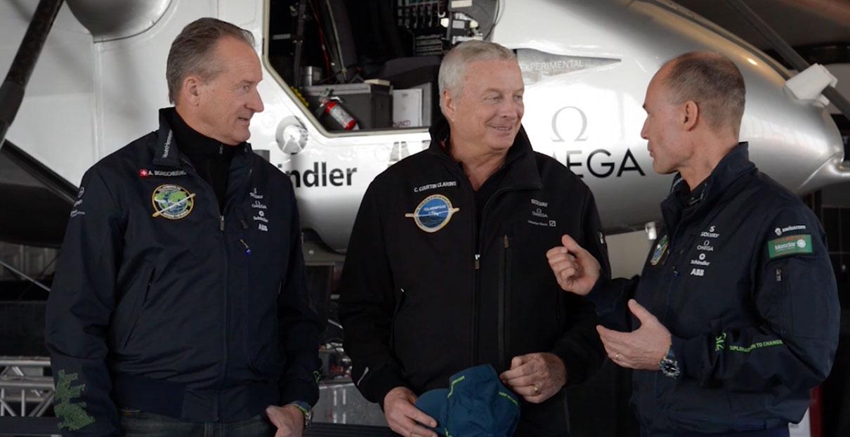 Solar Impulse & Clarins