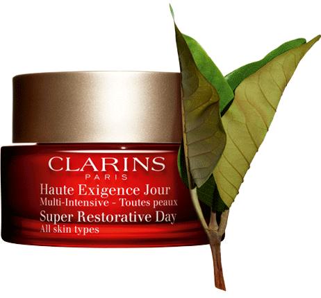 Super restorative day cream with harungana